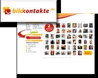 Logo und Vorschaubild von bildkontakte.de