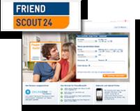 Logo und Vorschaubild von Friendscout24.de