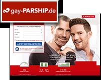 Logo und Vorschaubild von gay-Parship.de