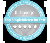 Gütesiegel von Flirtspiegel: Die besten Singlebörsen im Test